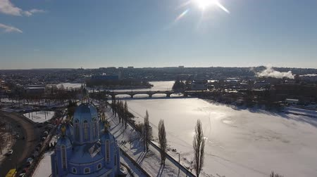 urss : Citys winter view