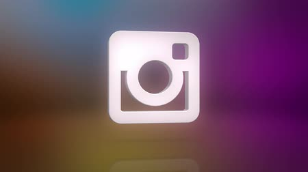 fotky : Instagram Icon Motion Background Dostupné videozáznamy