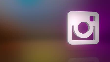 fotky : Instagram Icon Text Background Dostupné videozáznamy