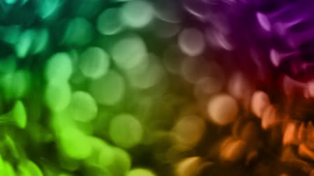 Rotating Rainbow Orbs Motion Background