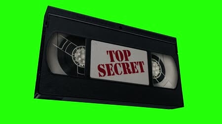 Top Secret Tape Animation Wideo