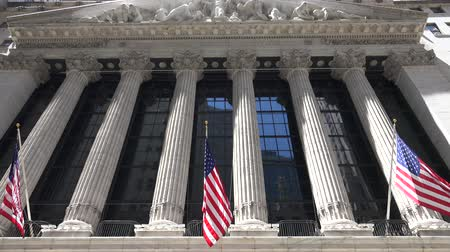 bandeira americana : New York Stock Exchange, NYSE