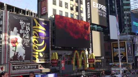 komerční : Times Square, Broadway, New York City, Manhattan