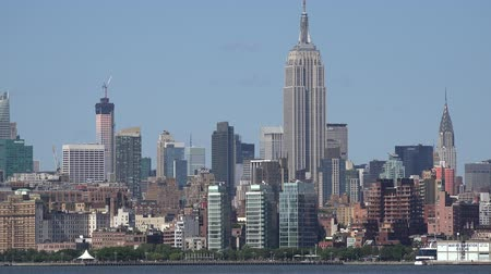 império : Empire State Building, Midtown Manhattan, New York City Stock Footage