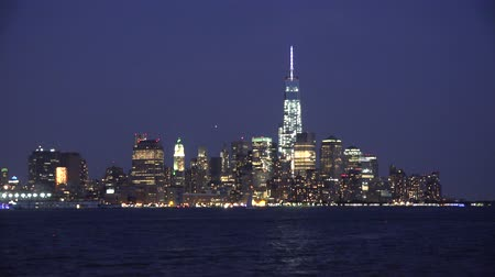 regional : City at Night, Buildings, Freedom Tower, WTC