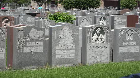 trumna : Cemetary, Graveyards, Tombs, Tombstones, Death Wideo