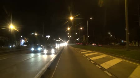 světlomety : Buses, Mass Transit, Night, Evening