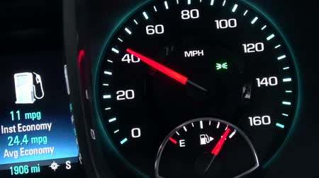 mph : Speedometer, Speed, Gauge, Measure, Automotive Stock Footage