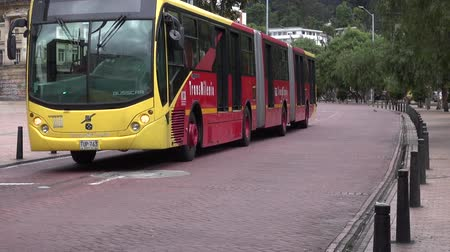 motor vehicle : Buses, Roads, Public Transportation, Mass Transit Stock Footage