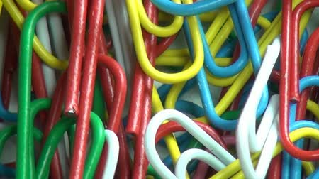 zaoblený : Paper Clips, Multi Colored, Office Supplies