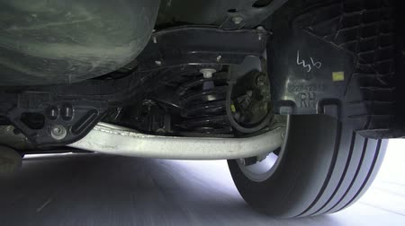 подвесной : Car Suspension, Wheels, Struts, Auto Parts Стоковые видеозаписи