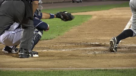 beisebol : Baseball Catcher, Players, Team, Sports Stock Footage