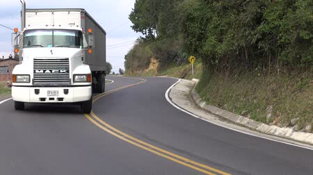 trucks : Trucks, Tractor Trailer, Cargo, Delivery Stock Footage
