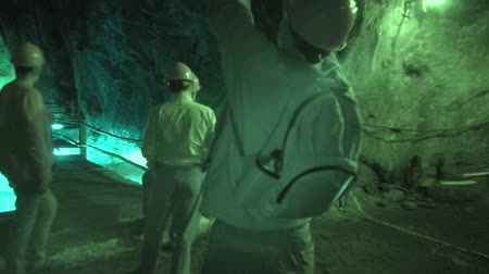 eixo : Miners, Underground Mines, Workers Stock Footage