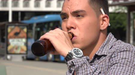 alkol : Man Male Smoking Beer Alcohol