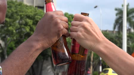 abuso : Beer, Alcohol, Beverages Stock Footage