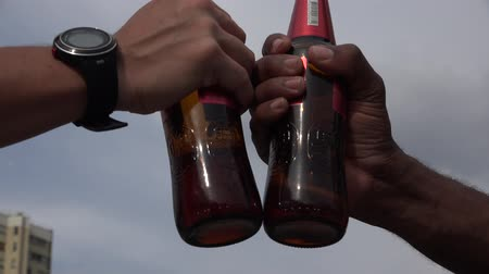 depressant : Beer, Alcohol, Beverages Stock Footage