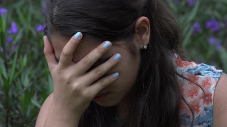 depressão : Depressed Teenage Girl