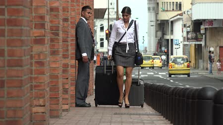 feminin : Business Woman in a Hurry