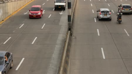 jam : Vehicle Traffic On Onramp Stock Footage