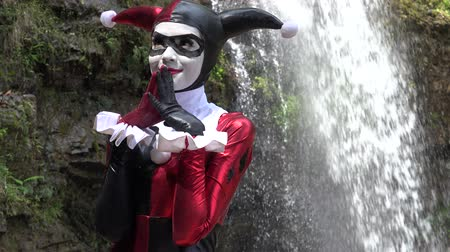 coringa : Devious Cosplay Jester Girl