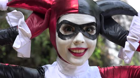 coringa : Fun Cosplay Jester Girl