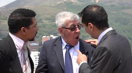 disputa : Business Men Arguing Accusing  Disagreeing Vídeos