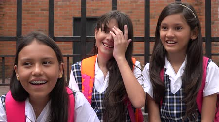 seminair : Schattig School Girls Laughing