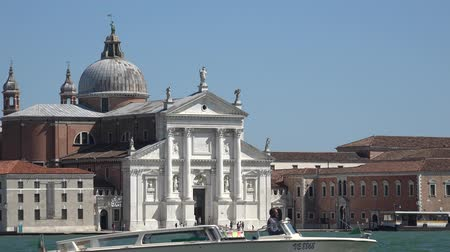 burocracia : Palace Or Government Building In Venice Italy Stock Footage