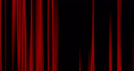 red background : Seamless Looping abstract background red curtains