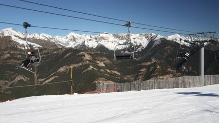 esqui : shots from the slopes in andorra