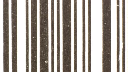 сканирование : stop motion of differnet images of barcodes sequenced together to make abstract patterns Стоковые видеозаписи