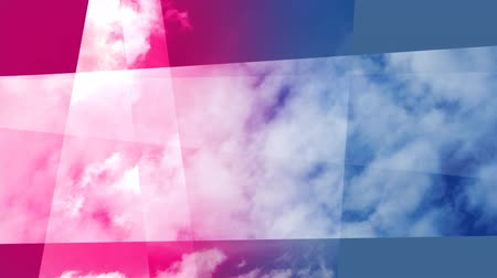 shot of clouds and sky with overlayed motion graphics Dostupné videozáznamy