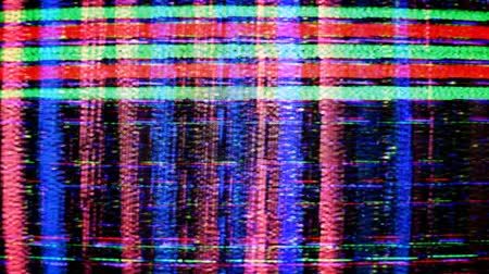 tuned : static and electronic noise captured from an old televison