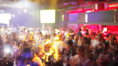 boate : crowd dancing in barcelonas biggest club, Razzmatazz