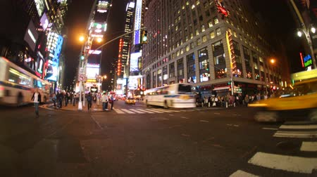 brodway : Times square di notte, new york