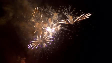 estouro : Colourful fireworks display