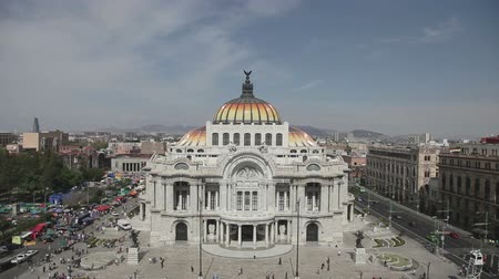 meksyk : the impressive bellas artes building in mexico city