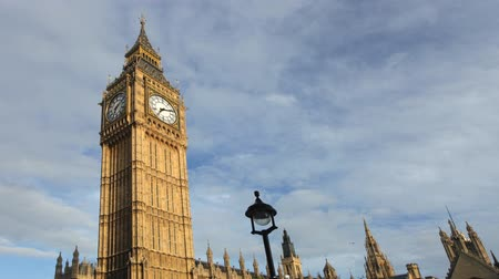 big ben : Timelapse of big ben clock, parliament, westminster, london