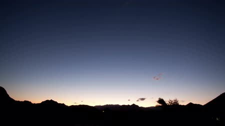 starlit : timelapse of stars at night in baja california sur, mexico Stock Footage