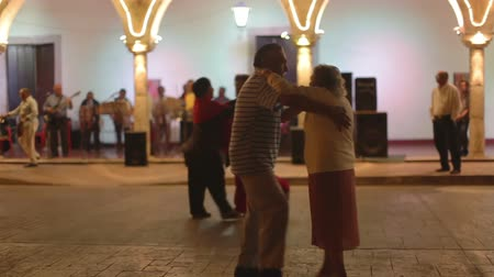 davulcu : live band plays outdoors in the town of Valladolid in mexico. audio included