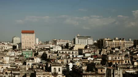 kübalı : timelapse of the havana skyline, cuba