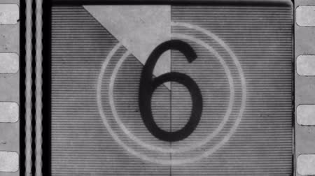 lider : universal filmacademy leader countdown, made using 35mm film strip.