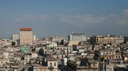 kuba : Timelapse of the havana skyline, Cuba