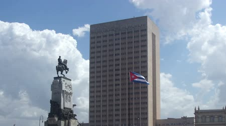 kuba : Timelapse of the havana general hospital, Cuba