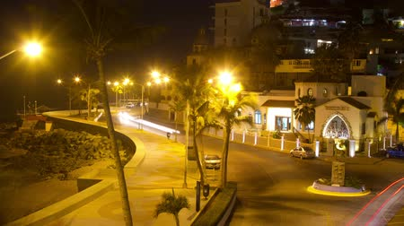 meksyk : timelapse of the malecon (sea road) in the pacific coast city of mazatlan mexico Wideo