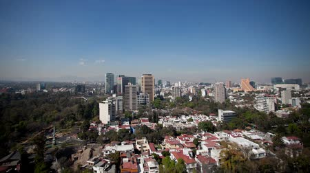 meksyk : a time-lapse of the mexico city skyline (polanco district)