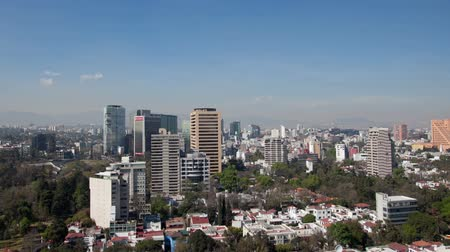 meksyk : a time-lapse of the mexico city skyline