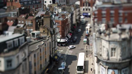 covent : Timelapse looking down onto covent garden, london