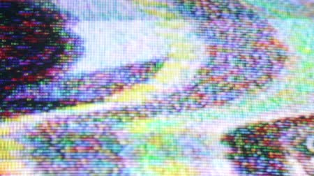 tuned : Static and electronic noise captured from an old television with audio
